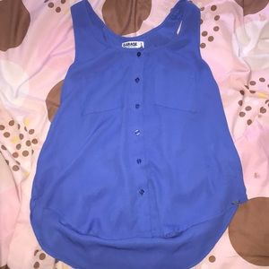 See through blue size extra small tangtop